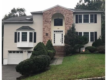 45 LESSING RD  West Orange, NJ MLS# 3508719