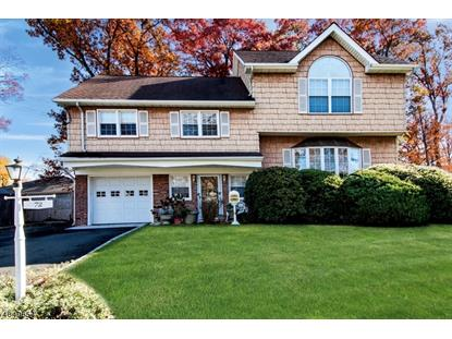 72 SHADY LN  Fanwood, NJ MLS# 3520087