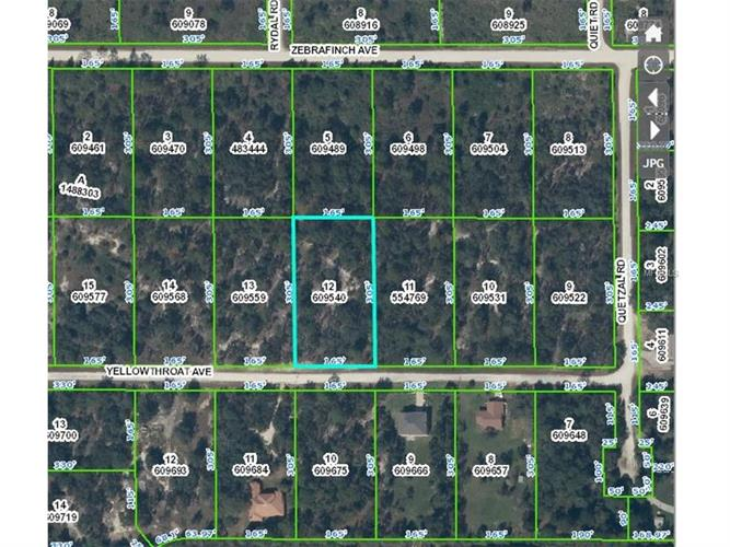 0 YELLOWTHROAT AVE, Weeki Wachee, FL 34614