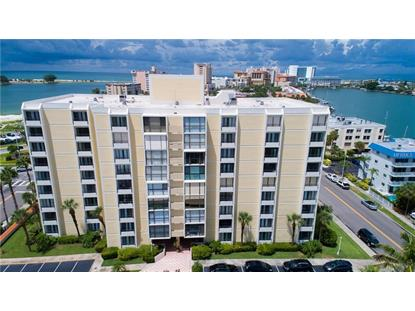 800 S GULFVIEW BLVD #601 Clearwater Beach, FL MLS# W7632984