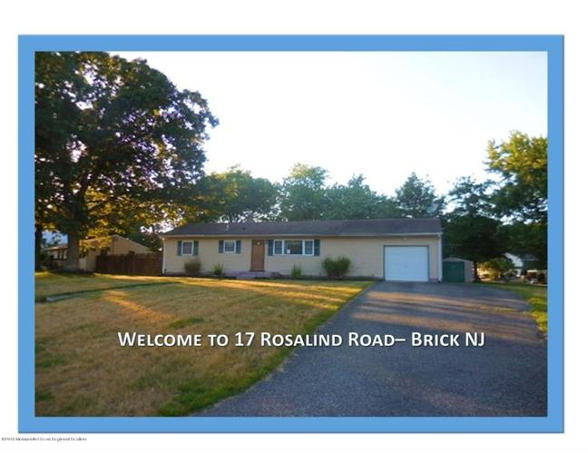 17 Rosalind Road, Brick, NJ 08724