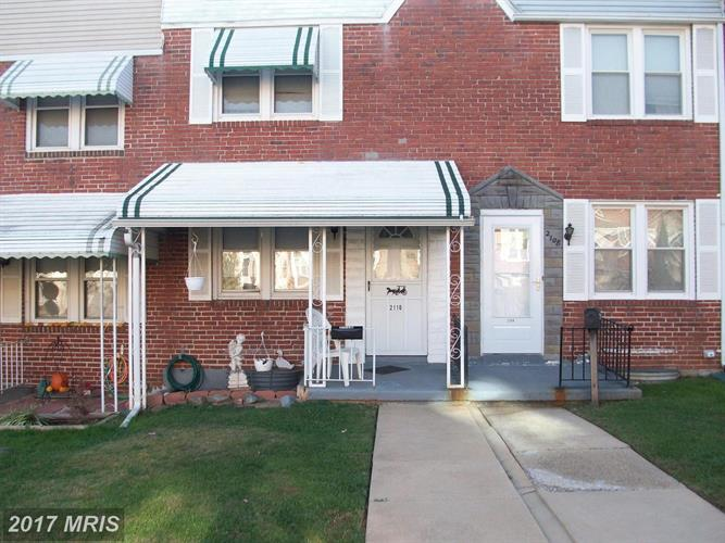 2110 PARKSLEY AVE, Baltimore, MD 21230