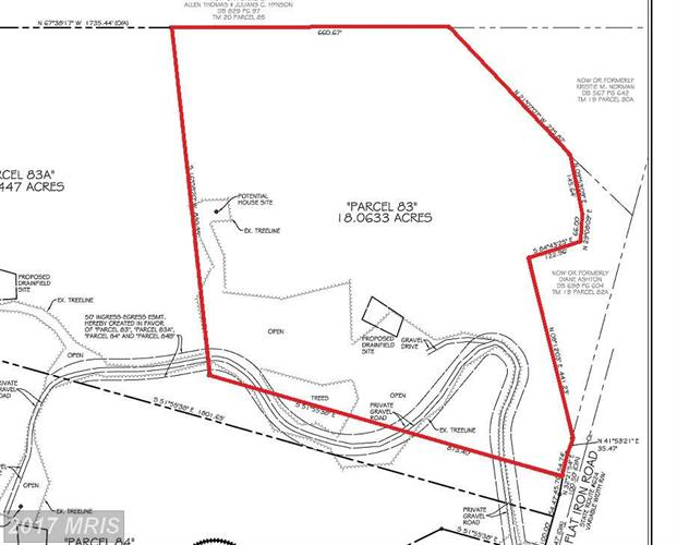 LOT 83 FLAT IRON RD, Montross, VA 22520
