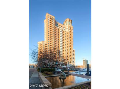 100 HARBORVIEW DR #1901 Baltimore, MD MLS# BA10015194