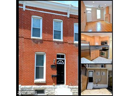 1730 CLARKSON ST Baltimore, MD MLS# BA10033599