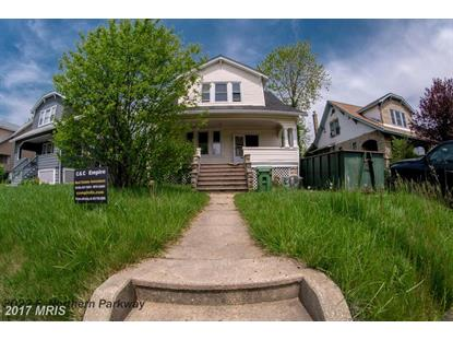 3022 NORTHERN PKWY Baltimore, MD MLS# BA9958119