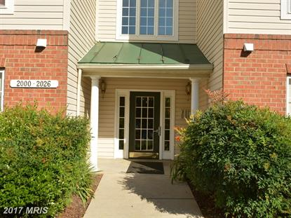 2016 HUNTING RIDGE DR #2016 Owings Mills, MD MLS# BC10025454