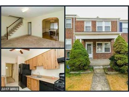 6105 FREDERICK RD Baltimore, MD MLS# BC9943312