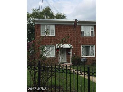 4016 E ST SE Washington, DC MLS# DC10017734