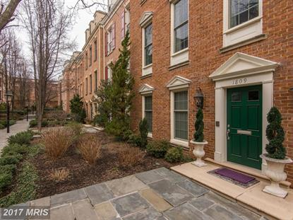 1809 KALORAMA SQUARE NW Washington, DC MLS# DC10075432
