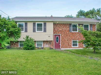 115 CHERRY HILL CIR Winchester, VA MLS# FV9946614
