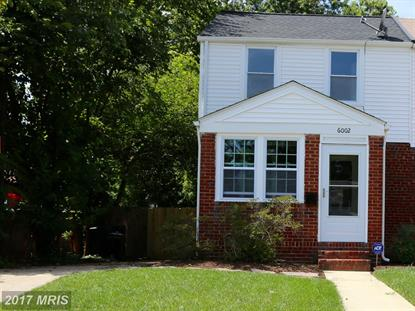 6002 N KINGS Alexandria, VA MLS# FX10031922