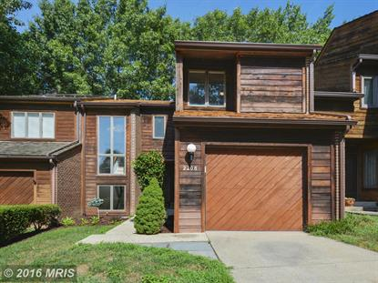 2208 CEDAR COVE CT Reston, VA MLS# FX9724251