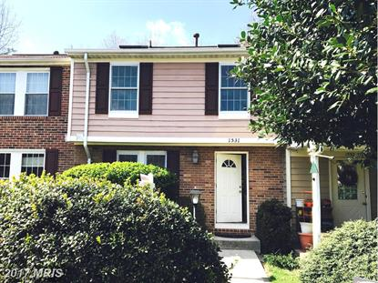 1531 AUTUMN RIDGE CIR Reston, VA MLS# FX9850045