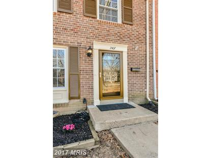 2407 ALSOP CT Reston, VA MLS# FX9859755