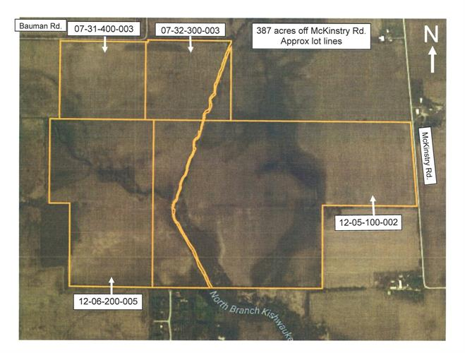 387 Acres off Mckinstry Road, Woodstock, IL 60098