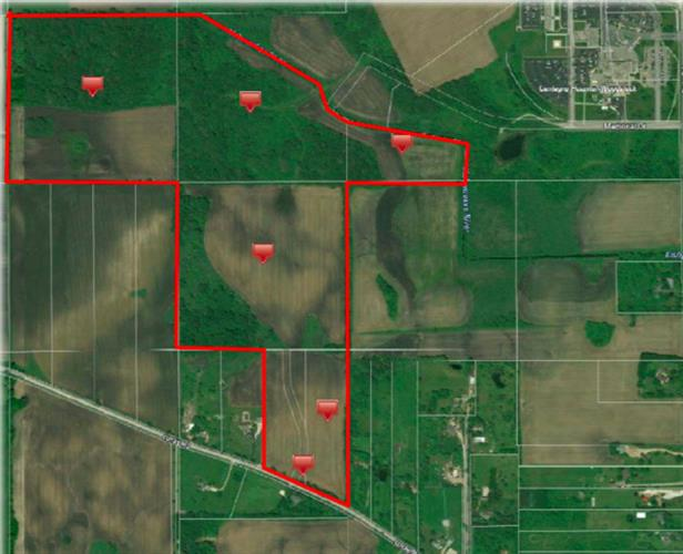 135 acre Vacant N Of Lucas Road, Woodstock, IL 60098