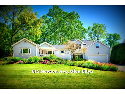615 Newton Avenue Glen Ellyn, IL MLS# 09766593