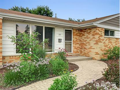 355 S Fair Avenue Elmhurst, IL MLS# 10031487