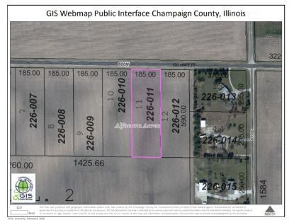 LOT 11 600N Road Tolono, IL MLS# 10823342