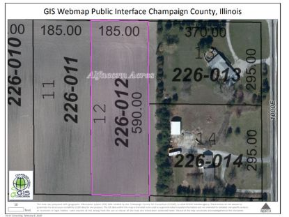LOT 12 600N Road Tolono, IL MLS# 10823345