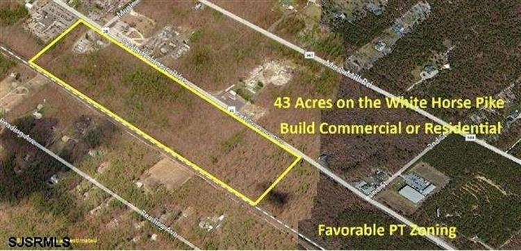 43 Acres White Horse Pike, Hammonton, NJ 08037