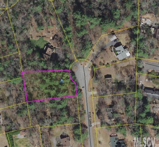 Lot 38 FIVE OAKS LN, Hickory, NC 28601