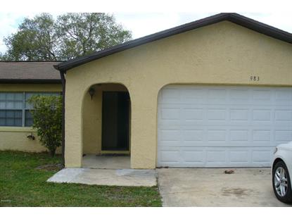 983 Sycamore Drive Rockledge, FL MLS# 802671