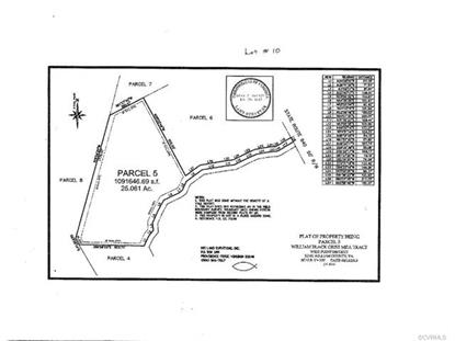 0TBD  Custis Millpond Rd West Point, VA MLS# 1705416