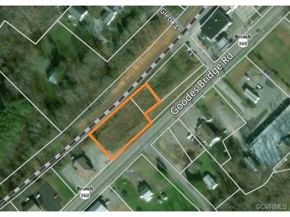 .71 ACRES  GOODES BRIDGE Rd Amelia Court House, VA MLS# 1809626
