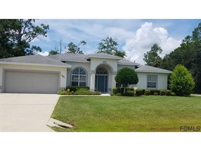 111 White Hall Dr  Palm Coast, FL MLS# 240879