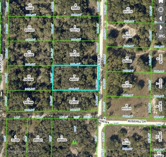 0 Glenchester Drive, RIDGE MANOR, FL 33523