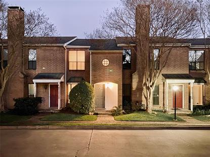 12550 Piping Rock unit 6 Drive Houston, TX MLS# 49153014