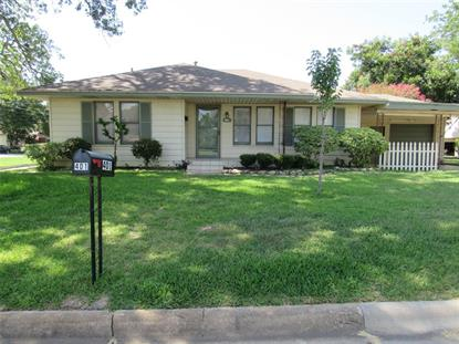 401 Botts  Brenham, TX MLS# 63123694