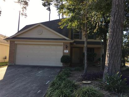 43 Bark Bend Place The Woodlands, TX MLS# 78066668
