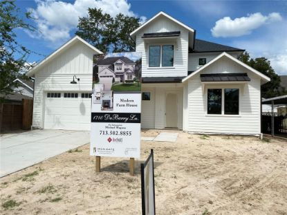 1710 Du Barry Lane Houston, TX MLS# 92074159