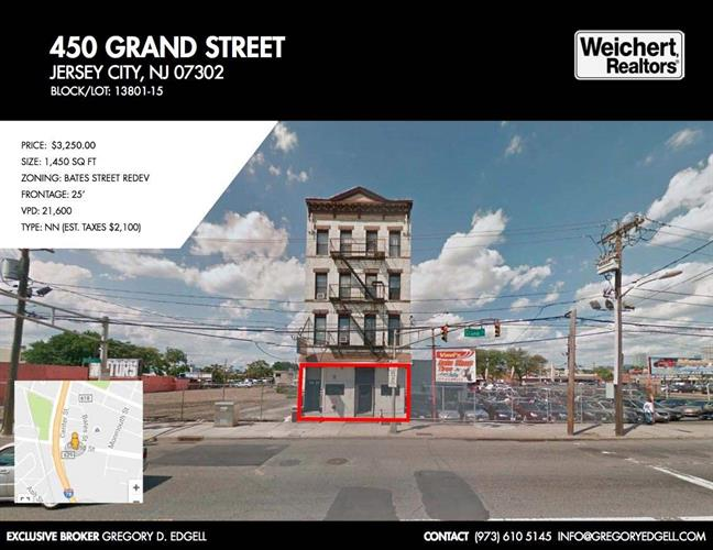 450 GRAND ST, Jersey City, NJ 07302