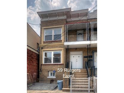 59 RUTGERS AVE Jersey City, NJ MLS# 170013702