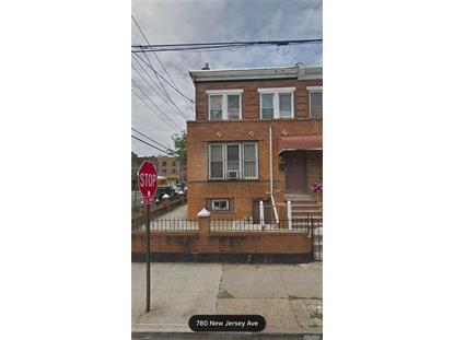 780 New Jersey Ave Brooklyn, NY MLS# 3093481