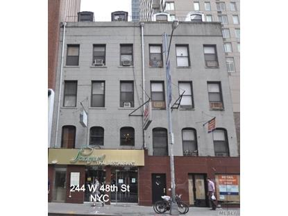 244 W 48th Street W New York, NY MLS# 3228437