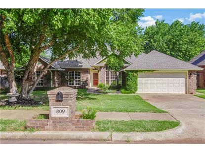 809 Colony Drive Edmond, OK MLS# 871517