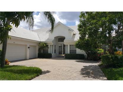 823 Ashburton DR Naples, FL MLS# 217041669