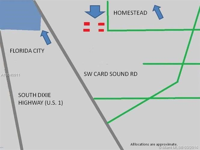 Homestead Florida Map.137 Sw 300 St Homestead Fl 33035 For Sale Mls A10040911