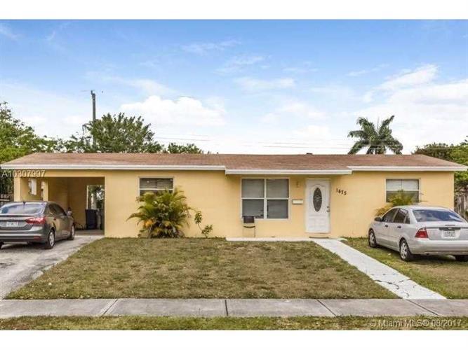 1475 Nw 195th St Miami Gardens Fl 33169 Mls A10307997
