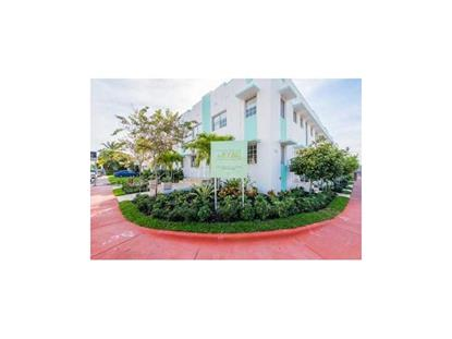 700 16th # 102 Miami Beach, FL MLS# A10011295