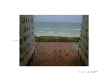 6039 COLLINS AVE # 819 Miami Beach, FL MLS# A10104150