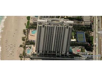 18683 Collins Ave  Sunny Isles Beach, FL MLS# A10217652