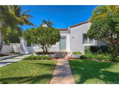 775 W 50 ST Miami Beach, FL MLS# A10234913