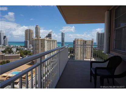 250 174th St # 2205 Sunny Isles Beach, FL MLS# A10258479