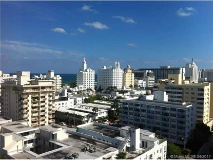 1881 Washington Ave # 15G Miami Beach, FL MLS# A10259010